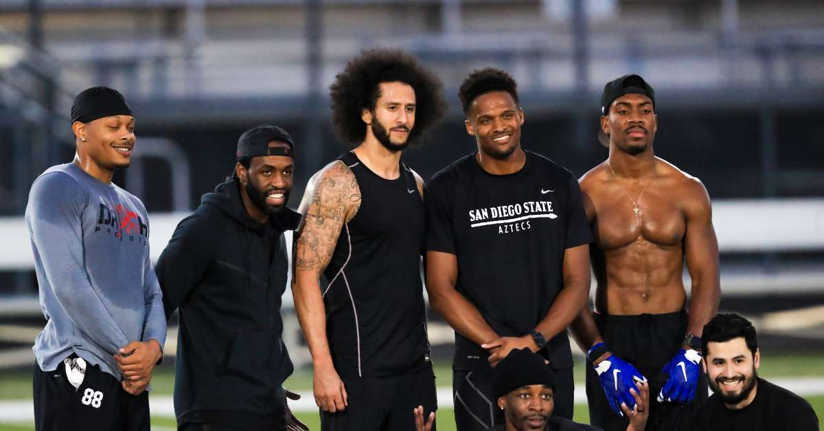 Wide Receiver at Colin Kaepernick's Workout Gets Tryout With Cleveland Browns