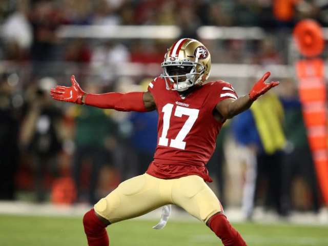 49ers WR Emmanuel Sanders Liked and Retweeted Own Highlights During Game Against Saints