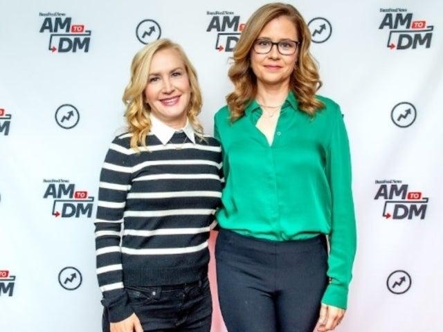 'The Office' Stars Jenna Fischer and Angela Kinsey Talk Reboot With Ellie Kemper on 'Ellen'
