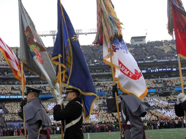 Army and Navy Officials to Investigate Hand Gesture Caught on Video at Football Game