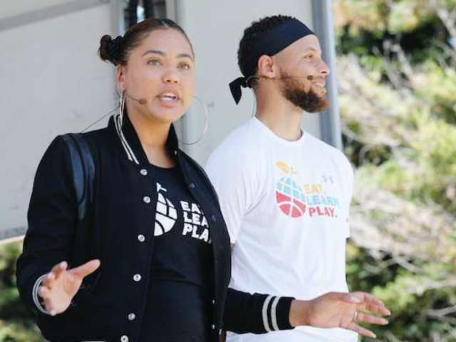 Steph Curry's Wife Ayesha Acknowledges His Alleged Nude Photo Leak With Eggplant Jokes