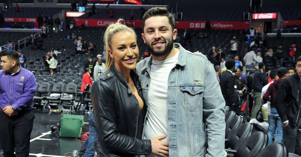 Baker Mayfield's Wife, Emily Calls Out Reporter After Browns Loss to Steelers