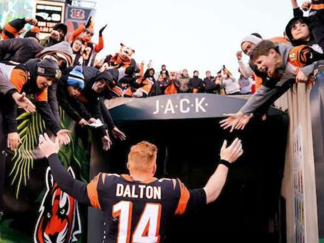 NFL Fan Lived on Roof for 57 Days Until Bengals Won First Game