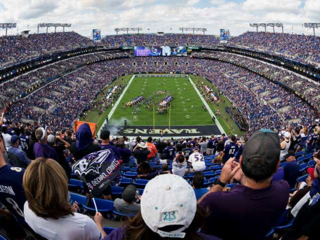Body Found in Portable Bathroom at Baltimore Ravens Stadium
