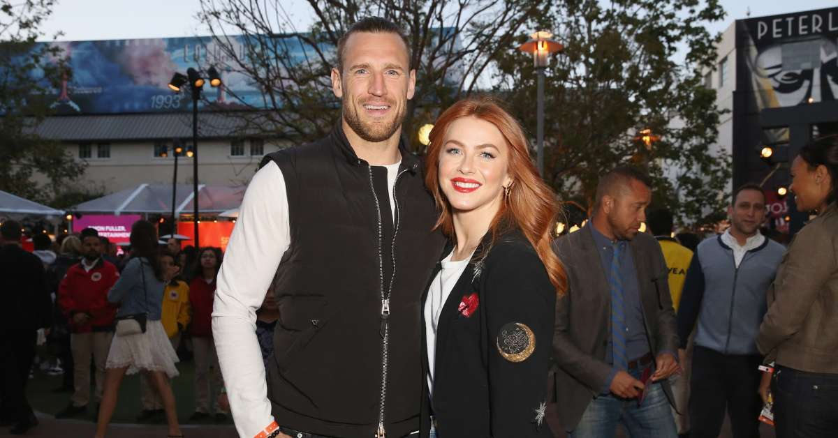 Brooks Laich Julianne Hough Husband opening exploring sexuality
