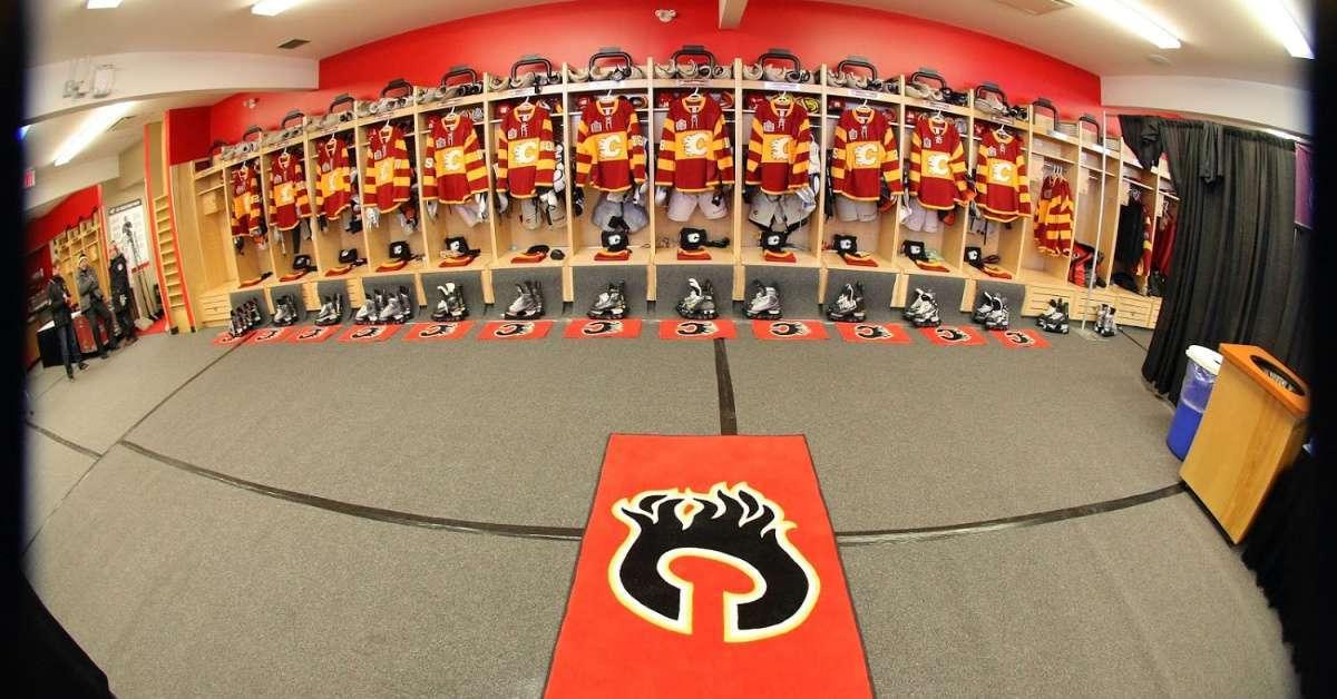 Calgary Flames Chris Snow ALS