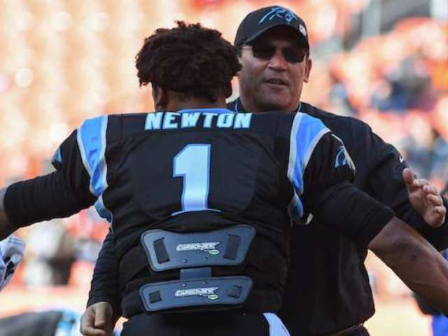 Cam Newton Reacts to Panthers Coach Ron Rivera's Firing: 'This One Hurts Deep'