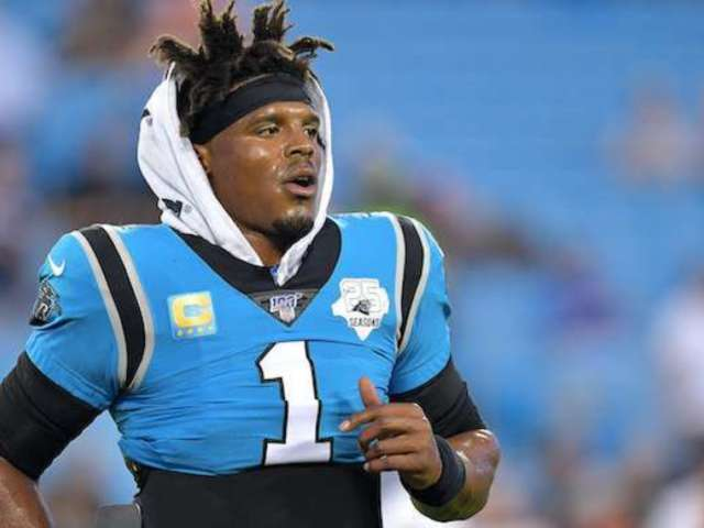 Cam Newton Calls out Panthers After Report He Requested a Trade