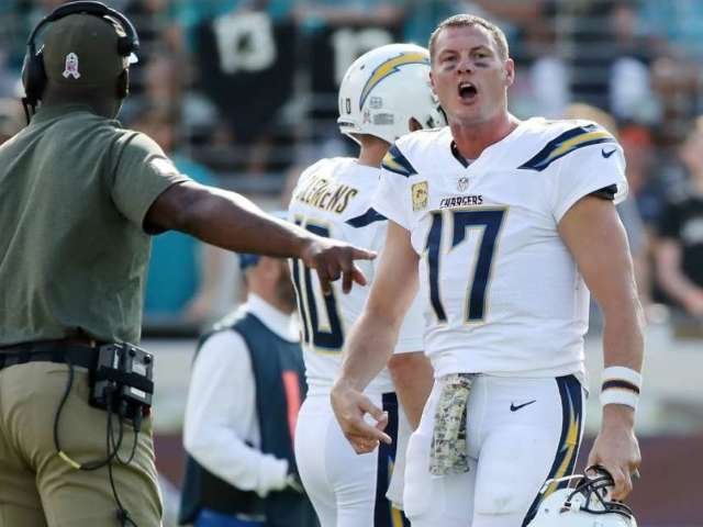 Chargers QB Philip Rivers Hilariously Trash-Talks Jaguars After Touchdown Pass and Fans Sound Off
