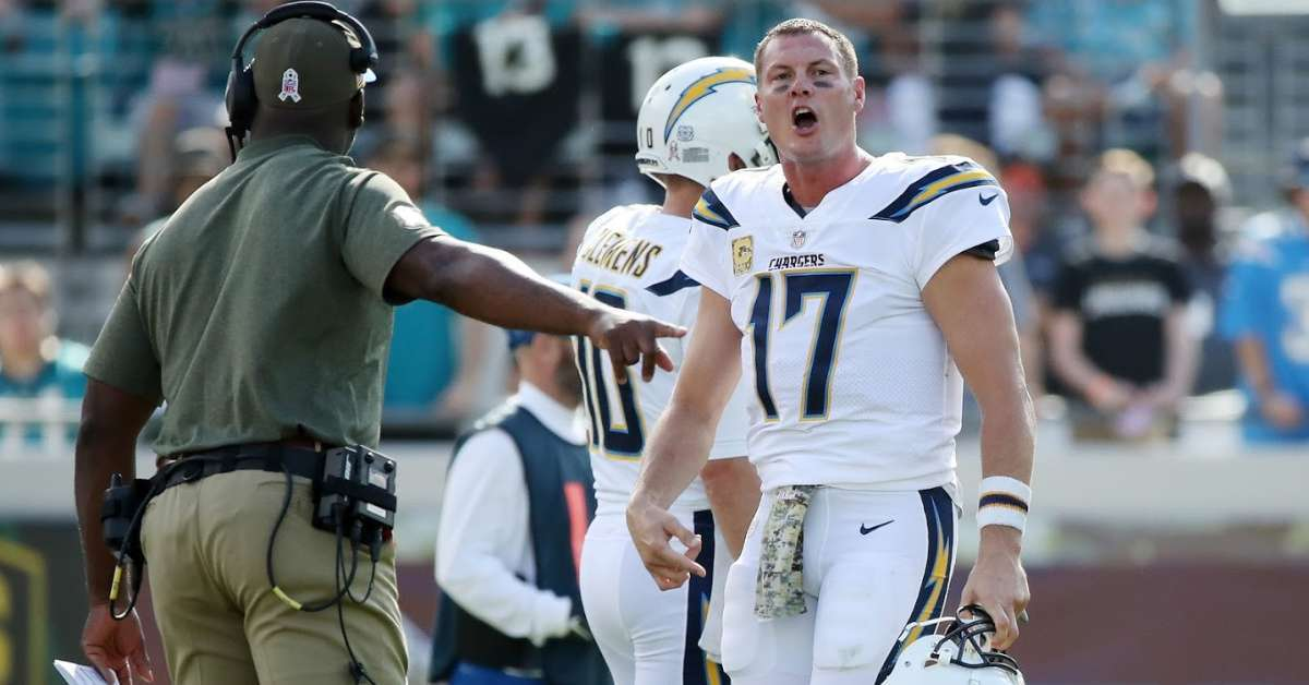 Chargers' Philip Rivers Trash-Talks Jaguars After Touchdown Pass and Fans Sound Off