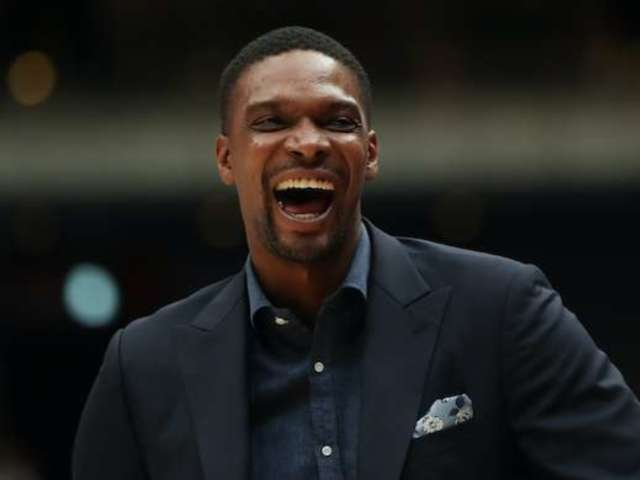 Chris Bosh Spotted Backstage for Eddie Murphy's 'SNL' Return, and He Wasn't Alone