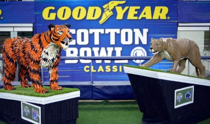 Cotton Bowl 2019 Matchup (Penn State vs. Memphis) (1)