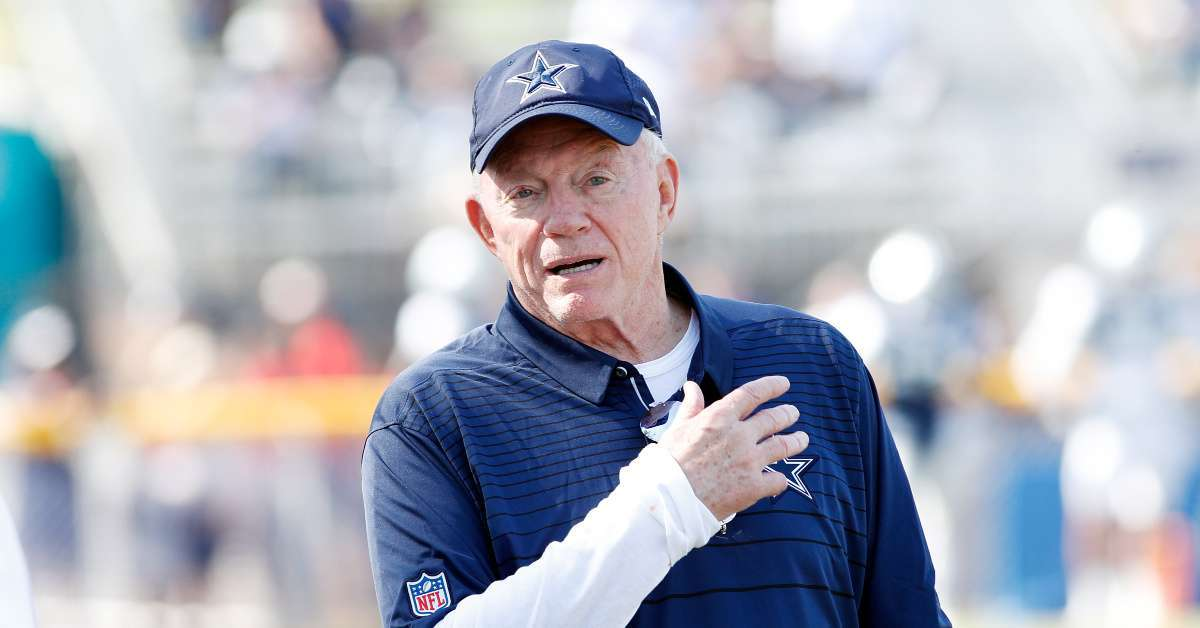 Cowboys Owner Jerry Jones Goes off on Radio Hosts, Dropped From Live Interview After Cursing