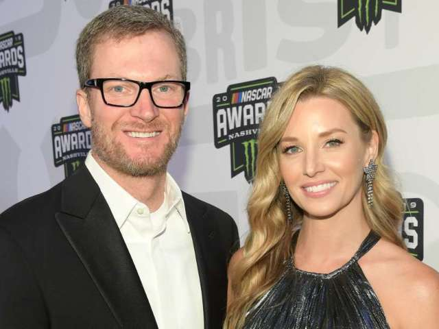 Dale Earnhardt Jr.'s Wife Amy Reveals 'Prom Night' Photo From Their NASCAR Awards Outing