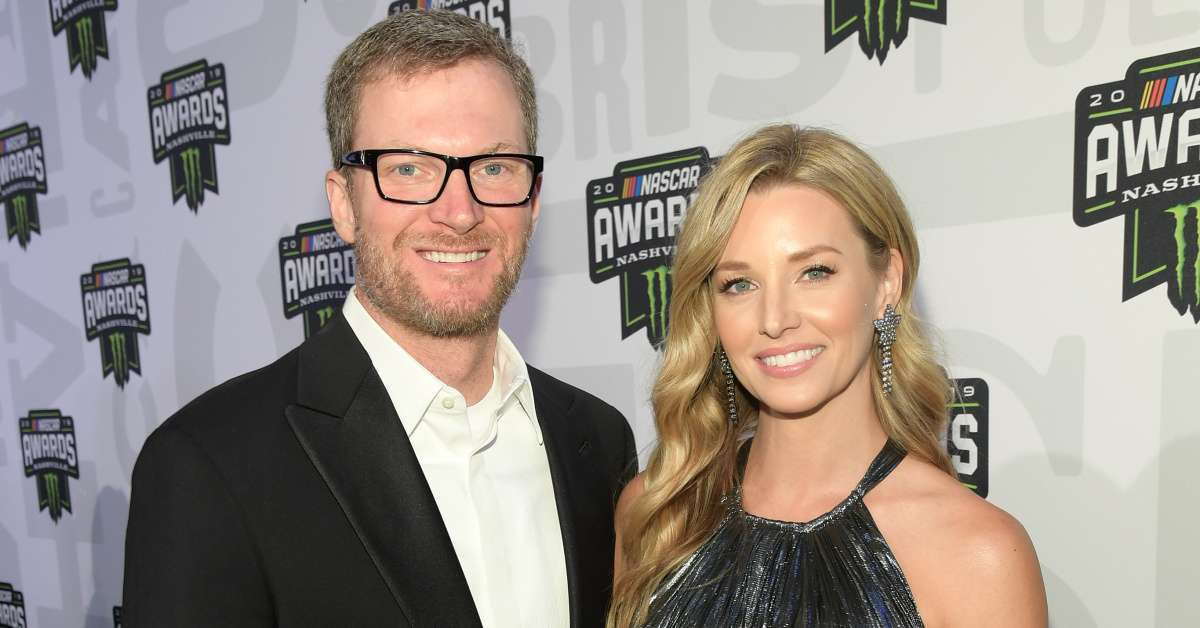 Dale Earnhardt Jr's Wife Amy Reveals 'Prom Night' Photo From Their NASCAR Awards Outing