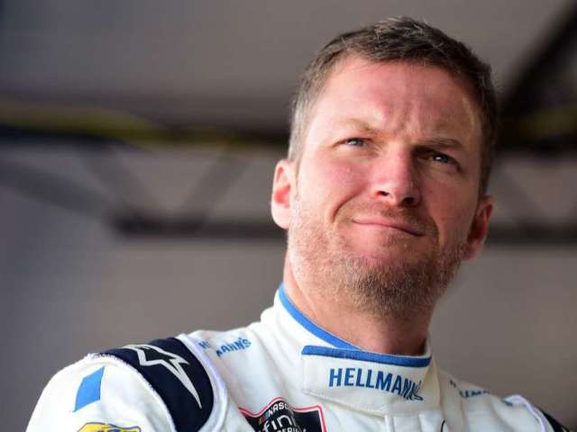Dale Earnhardt Jr. Reveals Never-Before-Seen Childhood Photo With Dad Dale Sr.