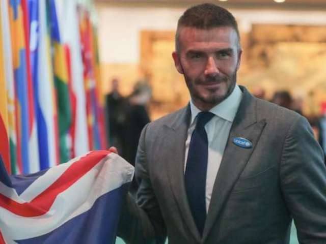 David Beckham Accused of Pretending to Cook After Fans Spot Chef in Background of Photos