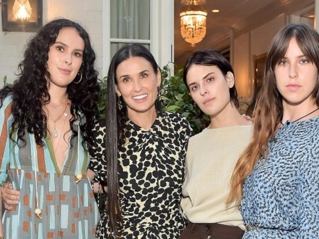 Demi Moore and Daughters Sport Matching Ensembles for Thanksgiving Photo