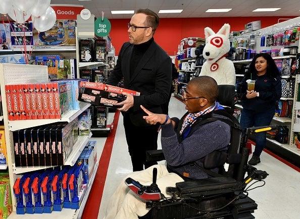 Donnie Wahlberg Target 2
