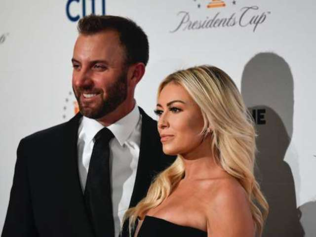 Dustin Johnson Fawns Over Fiancee Paulina Gretzky's Tropical Bikini Photo