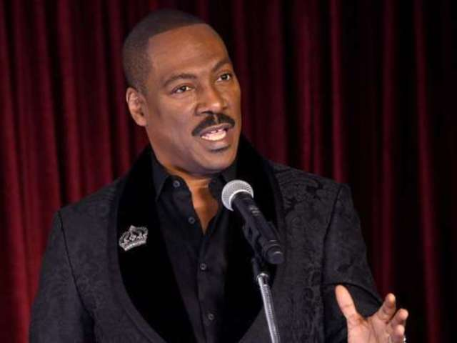 Eddie Murphy Officially Returning to Standup Comedy