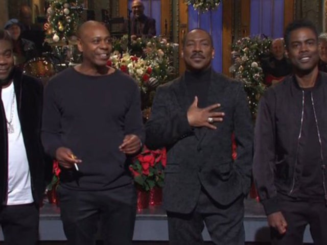 'SNL': Eddie Murphy's Opening Monologue Brings out Dave Chappelle, Chris Rock and Tracy Morgan