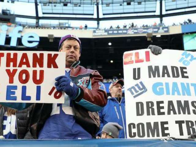 Eli Manning Fans Can't Get Over What May Have Been His Last Game