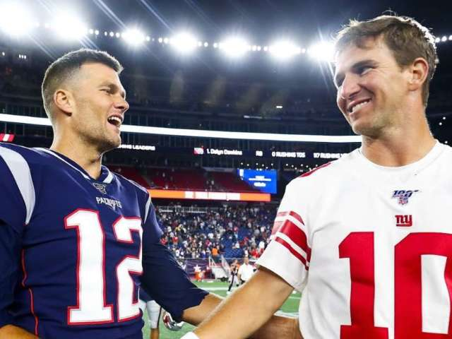 Eli Manning Is Currently Outperforming Tom Brady, and Fans Can't Believe It