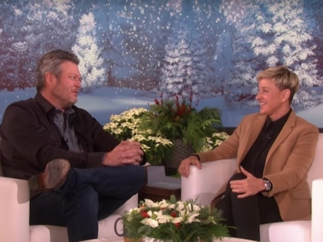 Blake Shelton Gets Grilled by Ellen DeGeneres for Not Proposing to Gwen Stefani Yet