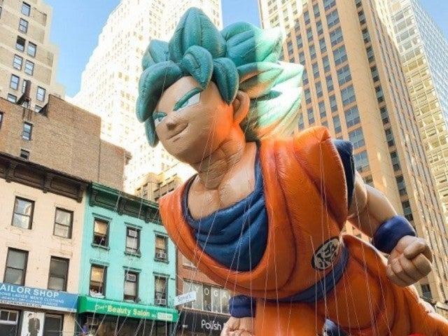 'Dragon Ball Z's Goku Appears as Macy's Thanksgiving Day Parade Balloon, and Longtime Fans Are Getting Emotional
