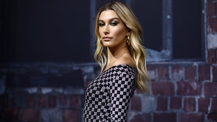 hailey bieber getty images