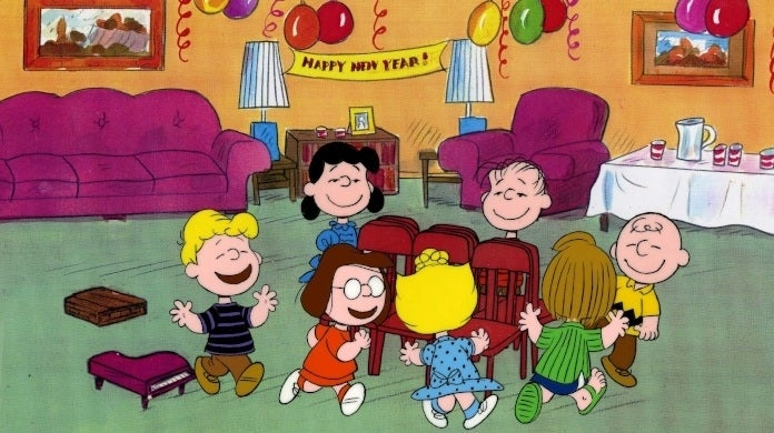 happy new year charlie brown abc