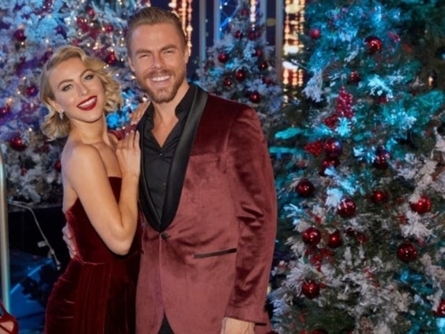 Julianne and Derek Hough Jokingly Shade Each Other With Mean Gifts During 'Holidays With the Houghs'