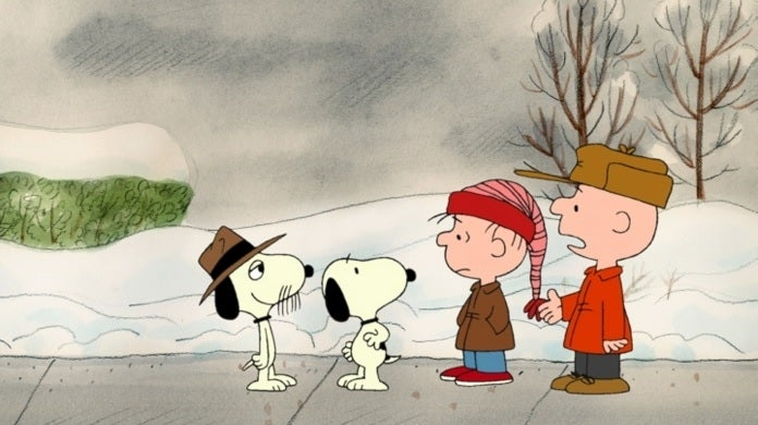 i want a dog for christmas charlie brown abc