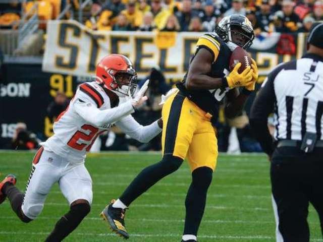 Steelers' James Washington Says His Team 'Finished It' on Sunday
