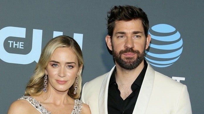 john-krasinski-emily-blunt-quiet-place-getty
