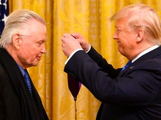 Donald Trump Praises Jon Voight for Role in 'Ray Donovan' and Twitter Has Thoughts