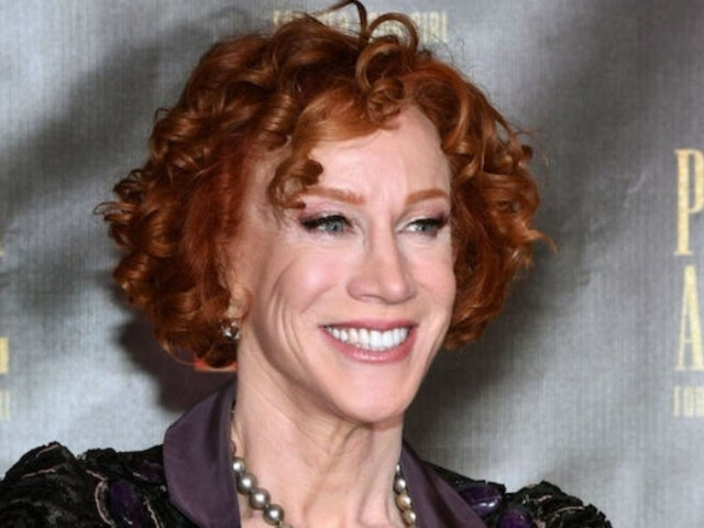 Kathy Griffin Responds to President Donald Trump's Impeachment