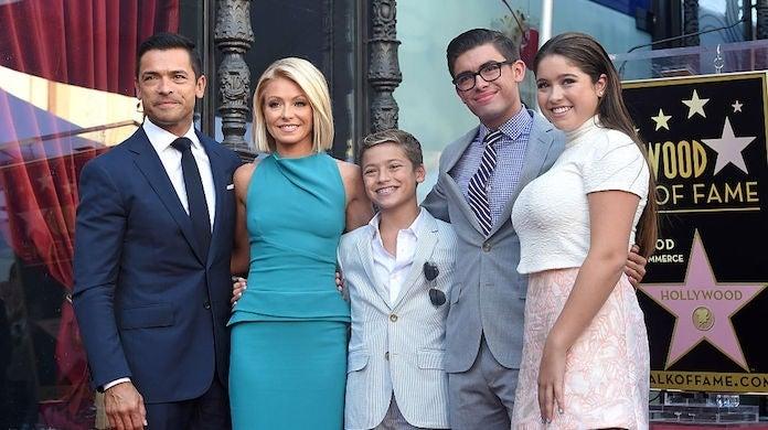 kelly ripa family