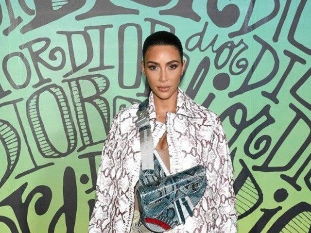 Kim Kardashian Rocks Full Head-to-Toe Snakeskin Outfit While in Miami, Photo Shows