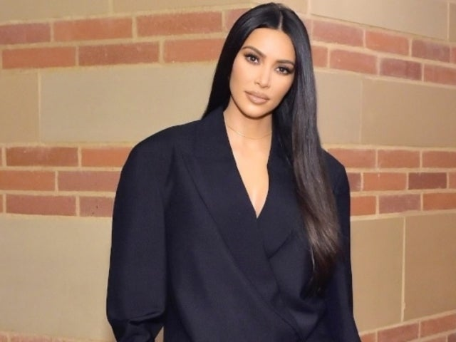 Kim Kardashian Went Solo for Family Christmas Card Reportedly Due to Major Disagreement