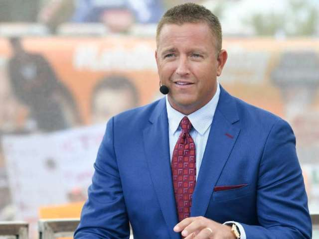 ESPN's Kirk Herbstreit Introduces Goodyear Blimp Exhibit at College Football Hall of Fame (Exclusive)