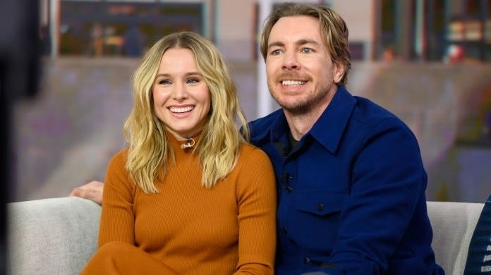 kristen bell dax shepard getty images nbc today show
