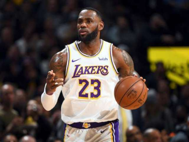 LeBron James Is Fired up About the 'No Time to Die' Trailer
