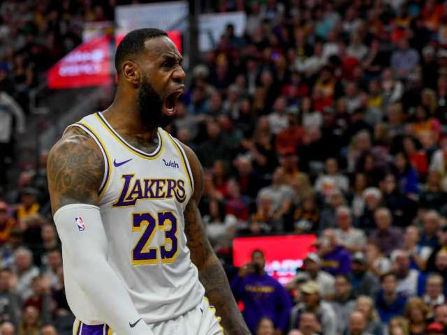 Lebron James Reveals Son Bronny Looks Identical to Him in Dunk Comparison Photo: 'Like Father Like Son'