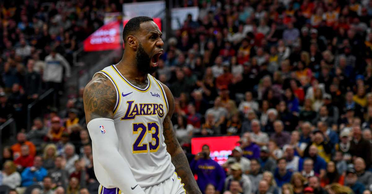 Lebron James Reveals Son Bronny Looks Identical to Him in Dunk Comparison Photo_ 'Like Father Like Son'