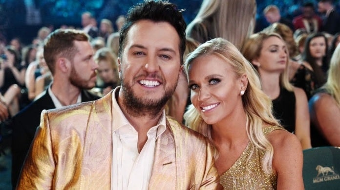 luke bryan caroline bryan getty images april 2019