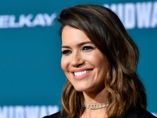 'This Is Us' Star Mandy Moore Shares Intimate Maternity Portrait, and Fans Are Gushing