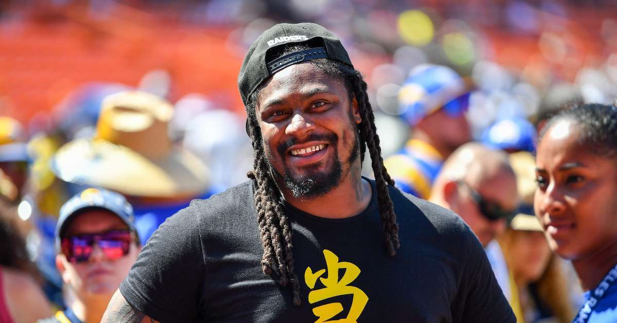 Marshawn Lynch one thing say Seahawks return press conference