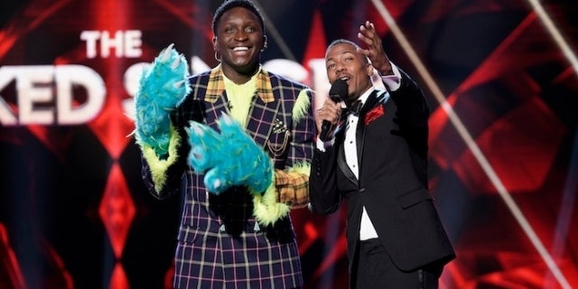 masked-singer-victor-oladipo-nick-cannon_getty-Michael Becker : FOX